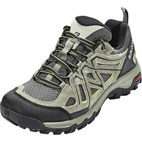 Salomon Evasion 2 Aero Hiking Shoes Men Castor Gray/Beluga/Fern